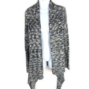 Charlotte Russe Women's Black Gray Sweater L